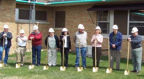 Groundbreaking Ceremony at Community Memorial Hospital, Redfield SD