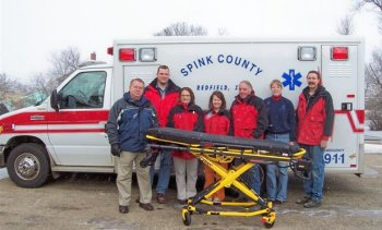 Ambulance Hydraulic cart purchased by the CMH/C Foundation
